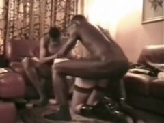 2 African Darksome Boyz Training White Thrall Wife to Worship BBC