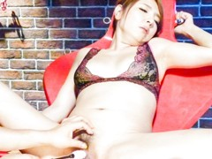 Horny Japanese whore Chieri Matsunaga in Best JAV uncensored Lingerie scene