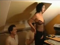 German non-professional swinger team fuck