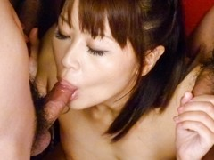 Fabulous Japanese whore Maika in Incredible JAV uncensored Blowjob video