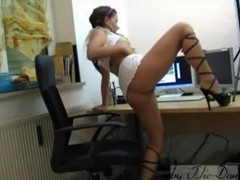 German real GF homemade porn movie