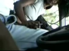 desi-malaysian tamil girl giving bj in car