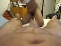 Hawt masseur gives me a priceless blow job-job and hand job till I cum on her