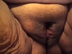 One of the biggest and oldest pussies of all times on web camera video scene