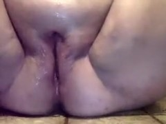 Massively big busty woman loved to pleasure herself with fake penis