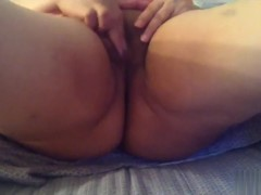 My wife slaver bating part 2