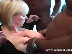 Breasty older allows anal from biggest dark knobs
