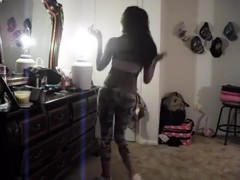 Most Excellent twerking cam non-professional clip