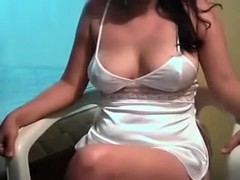 My curvaceous brunete wifey shows her curves and blows my shlong