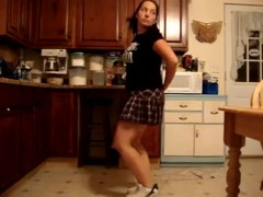 Incredible twerk web camera non-professional clip