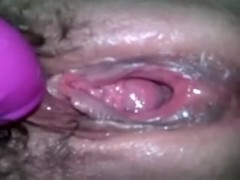 My wife wants me to finger fuck her appealing pink cum-hole