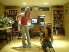 Desirous twerk web camera non-professional movie scene