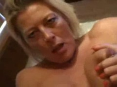 Blonde honey acquires fucked and filmed POV style