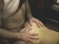 In this free homemade mature porn I'm fucking my mistress from behind, while my wife is cheering for