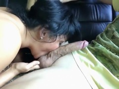 Mother I'd Like To Fuck licking engulfing and worshipping juvenile dick