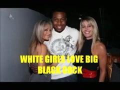 White cuties love large dark pecker compilation
