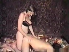 Russian cuckold tapes his wife getting fucked by a friend