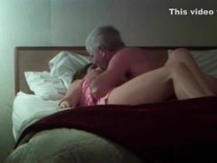 Cheating wife copulates her boss in hotel room