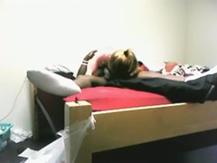 White girl fucks her black bf in various positions on the bed2