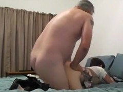 She keeps moaning 'fuck my little pussy, daddy' !!!
