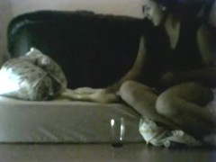 Dutch white girl makes a sextape with her black bf on a matress on the floor