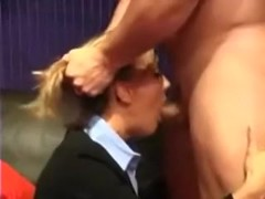 Sexy lawyer wife acquires a facial