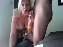 It's her first sextape and she's trying to make it epic !!!