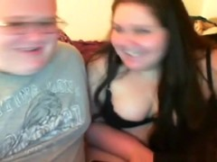 Fat nerd gets dared online to creampie his friend !!!