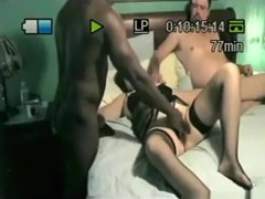 Cuckold mature couple has a threesome with a black stud