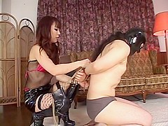 Strap-on Dildo Forced Of The Queen! DX
