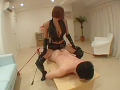 Japanese Femdom Video Dildo and Pee Bullying 3
