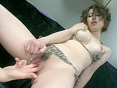Amazing Japanese whore Saki Ootsuka in Hottest JAV uncensored Hairy clip