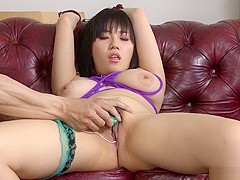 Crazy Japanese chick Azusa Nagasawa in Amazing JAV uncensored Cumshots movie