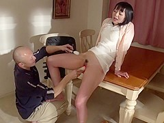 Horny Japanese slut Nozomi Yui in Best JAV uncensored MILFs scene