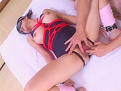 Best Japanese whore in Crazy JAV uncensored College Girl video