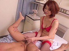 Crazy Japanese girl Erika Nishino in Amazing JAV uncensored Lingerie movie