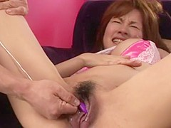 Ai Nakazato Uncensored Hardcore Video with Creampie, Dildos/Toys scenes