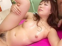 Yuuko Morita Uncensored Hardcore Video with Creampie, Dildos/Toys scenes