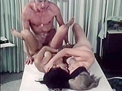 Horny vintage scene with Lynn Holmes and John Holmes