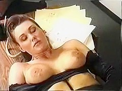 Classic Rachel Ryan & Peter North ANAL 2nd clip