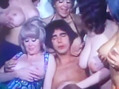 American Vintage Breast Orgy from the 70s