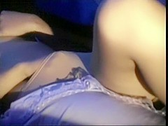 Horny girl gets fuck in the tent