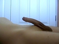 Hands Free Soft to Hard erection compilation with cum