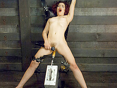 Amazing fetish porn video with incredible pornstar Ingrid Mouth from Fuckingmachines