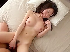 Horny Japanese model Aika Yumeno in Exotic JAV censored Fingering, Blowjob scene