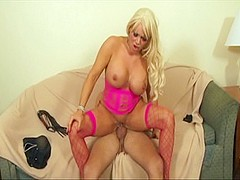 Exotic pornstar Jessi Rio in hottest blowjob, squirting adult video
