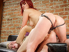 Horny fetish, anal porn scene with crazy pornstars Maitresse Madeline Marlowe and Ella Nova from Whi