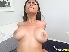 Big Tit Mia Khalifa loves hard cock