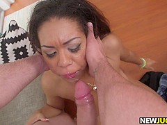 Katts Titties Bounce as Her Kitty Gets Fucked