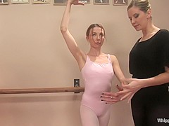 Exotic anal, fetish porn video with crazy pornstars Maitresse Madeline Marlowe and Sasha Lexing from